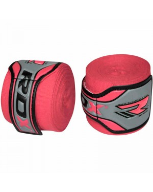 Бинты боксерские RDX Fibra Pink 4.5 м
