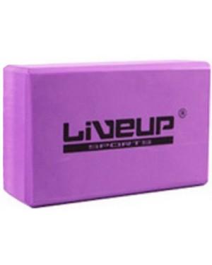 Блок для йоги LiveUp EVA BRICK LS3233A