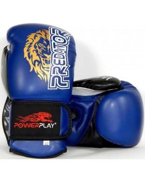 Боксерские перчатки PowerPlay 3006 Lion Predator Serits
