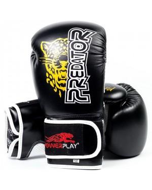 Боксерские перчатки PowerPlay 3009 Leopard Predator Serits