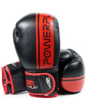 Боксерские перчатки PowerPlay 3022 (кожа)
