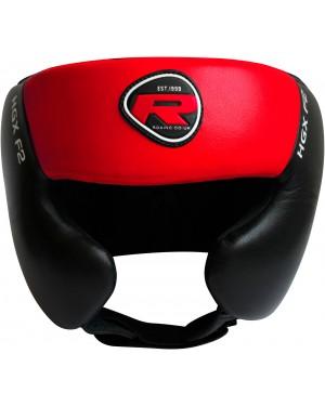 Боксерский шлем RDX RED тренировочный