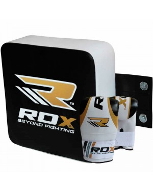 Настенная подушка для бокса SMALL GOLD RDX квадратная