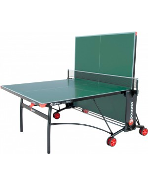 Стол теннисный Sponeta S3-86е всепогодный опоры white/black
