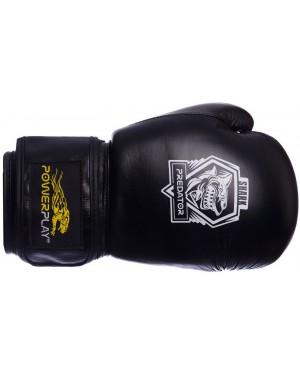 Боксерские перчатки PowerPlay 3001 Shark Series (кожа)