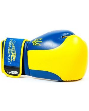 Боксерские перчатки PowerPlay 3021 Ukraine