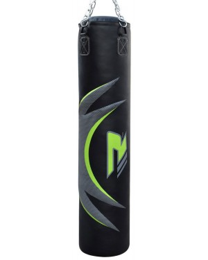 Боксерский мешок RDX Leather Green 1.2 м, 40-50 кг