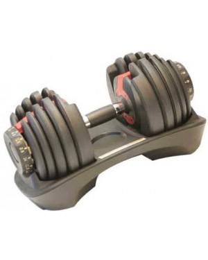 Гантель LiveUp  с регулируемым весом 2,3-24 кг LS2315-24